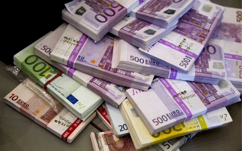 Liasses de billets de banque