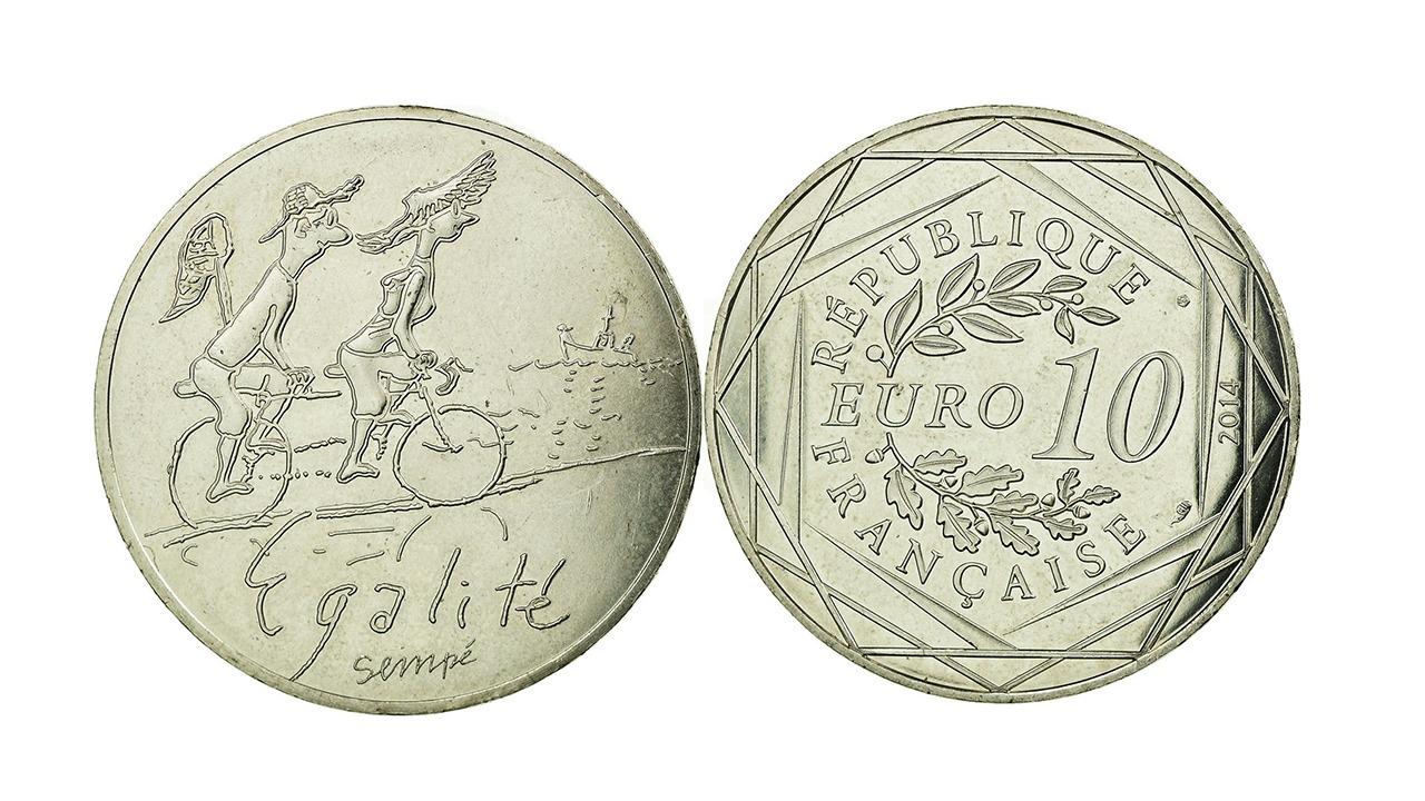 Pièces de 10 Euros