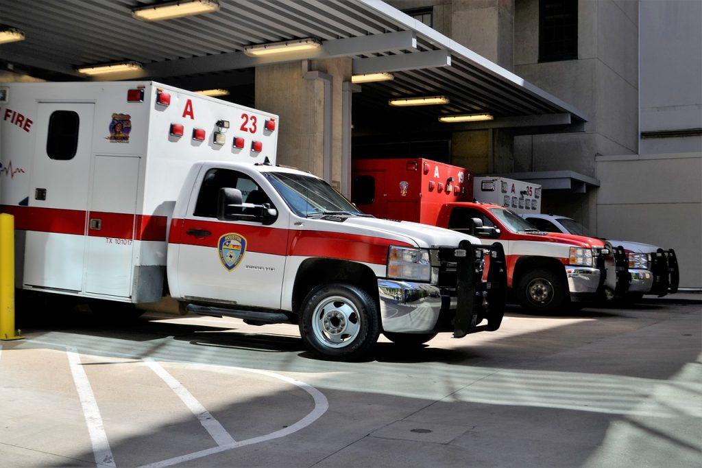 Véhicules d'urgences