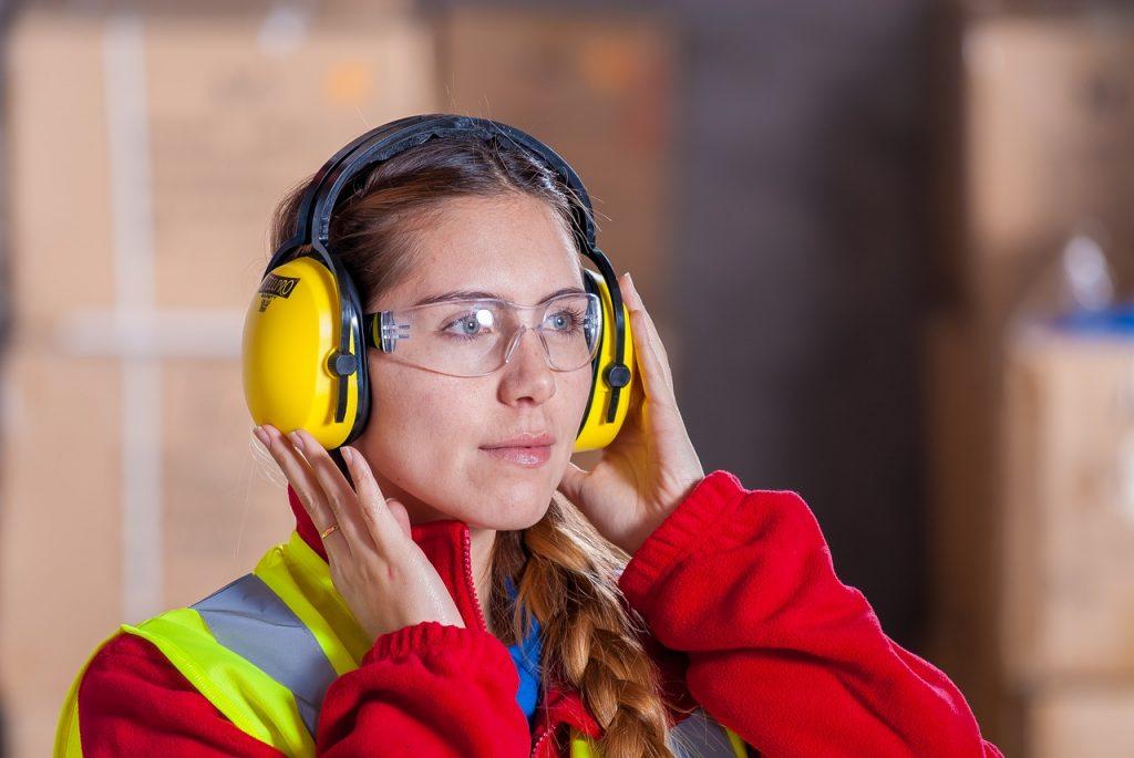 casque protection bruit en entreprise