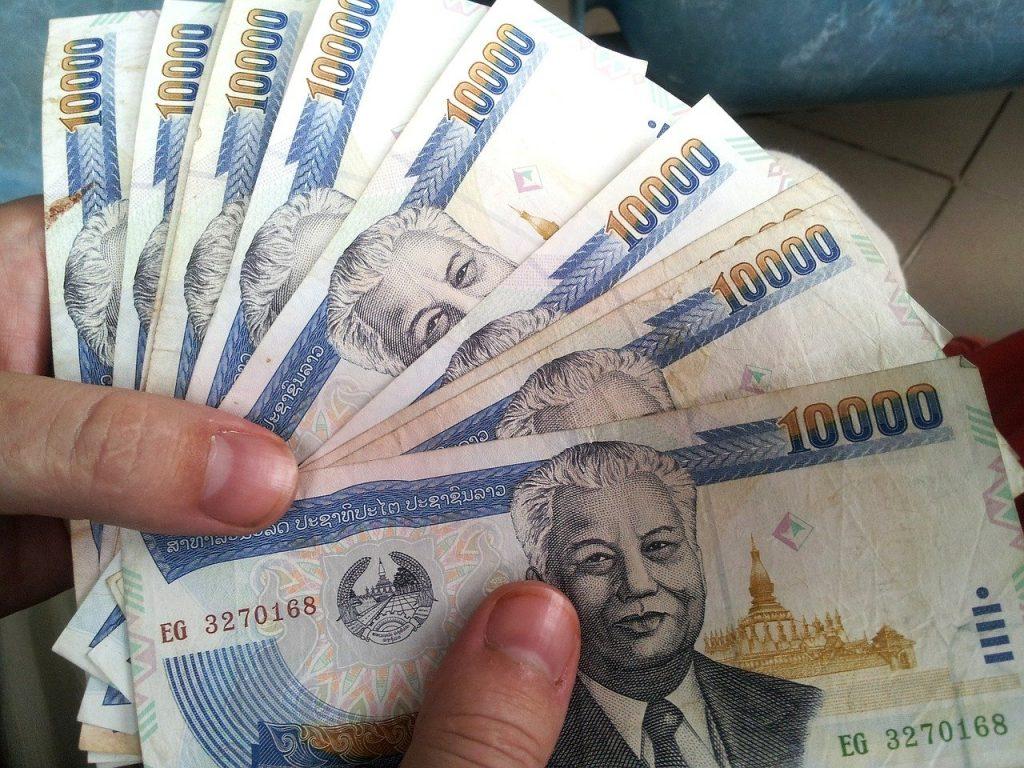 monnaie en Thaïlande