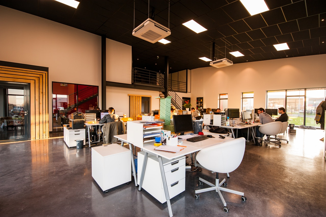 Coworking lumineux
