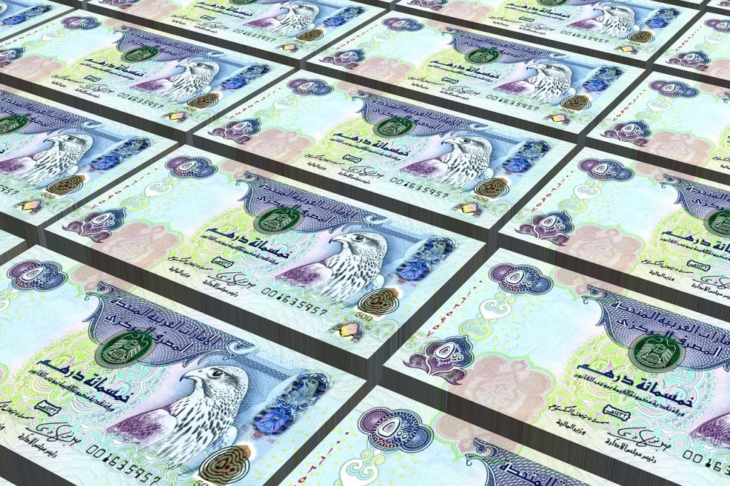 Monnaie à Dubaï