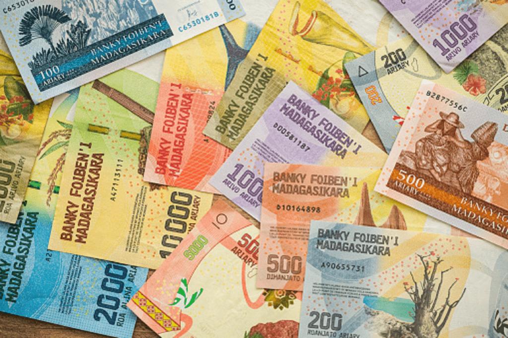 Monnaie à Madagascar