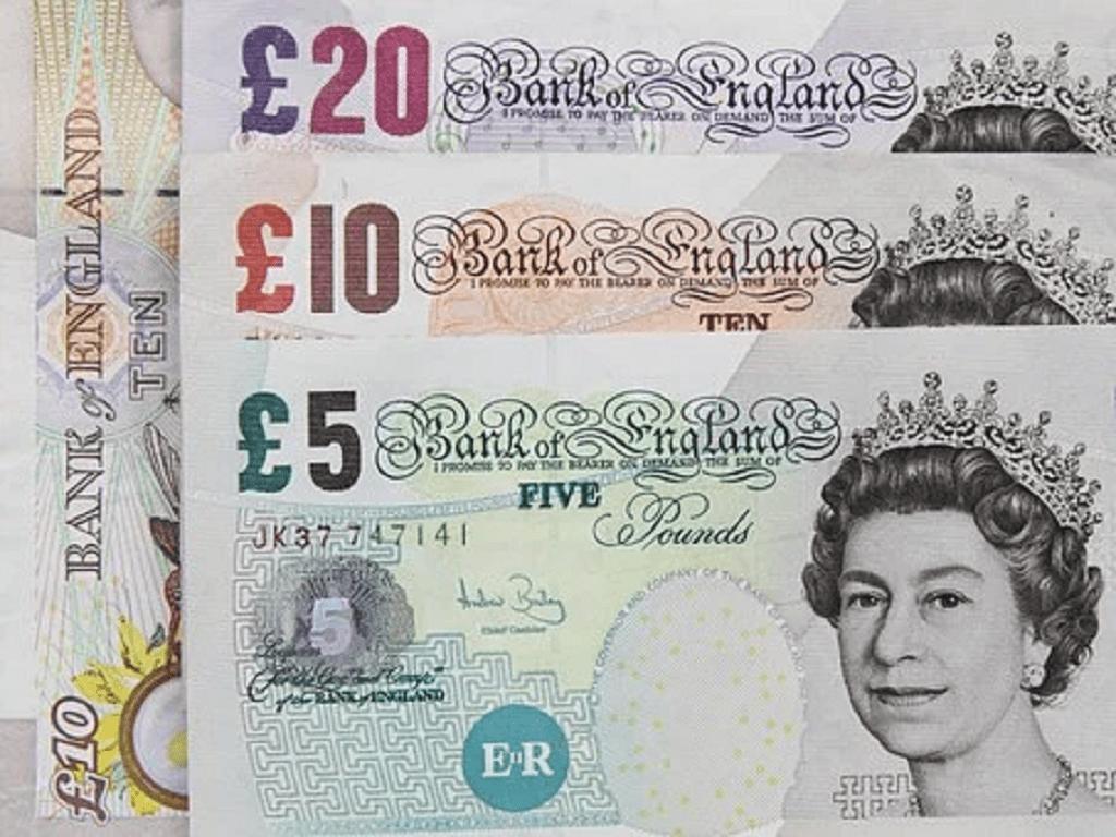 Billets de banque anglais