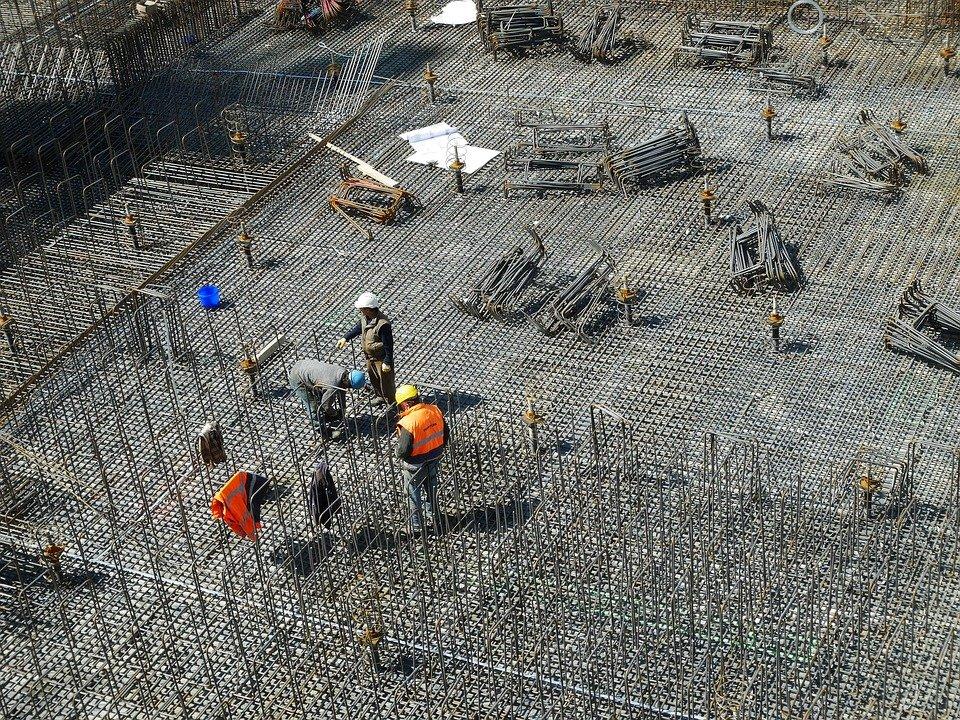 vaste chantier de construction